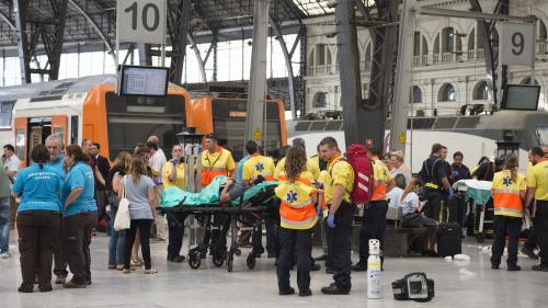 Espagne : un accident de train à Barcelone fait 54 blessés