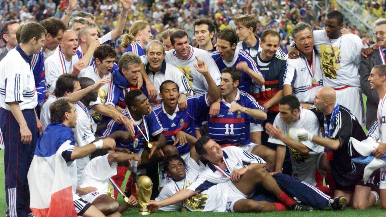 M moire d 39 info lors de la coupe du monde 98 j 39 tais s r - Coupe du monde 1994 equipe de france ...