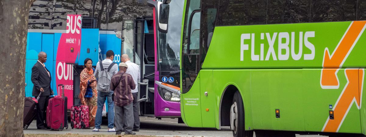 transports les quot cars macron quot attirent surtout les femmes les jeunes et les familles