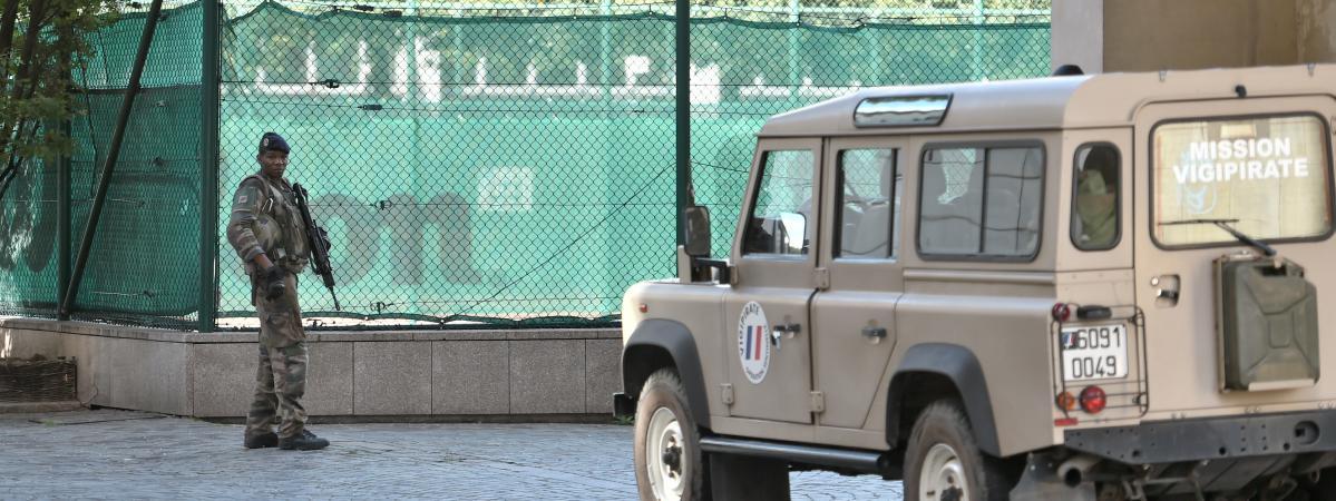 Attaque des militaires dans la région parisienne : le suspect est un Algérien de 36 ans