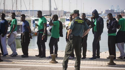 VIDEO. De plus en plus de migrants traversant la Méditerranée arrivent en Espagne