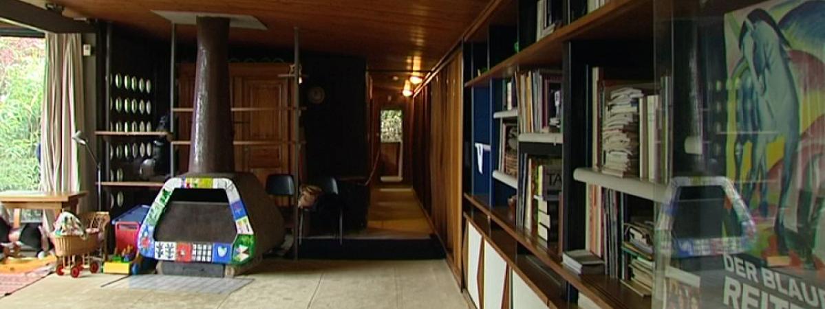 La maison de l 39 architecte jean prouv nancy la n cessit suscite l 39 innovation - Maison de jean prouve ...