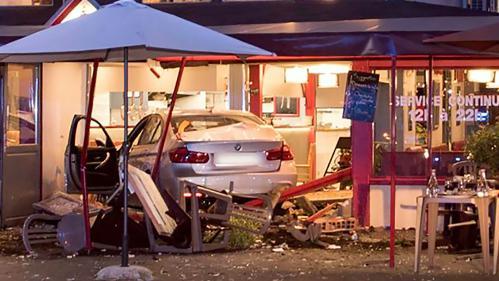 L'homme qui a foncé sur une pizzeria en Seine-et-Marne a été mis en examen pour meurtre aggravé et écroué
