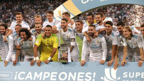 Le Real Madrid donne une leçon à Barcelone et s'offre une 10e Supercoupe d'Espagne