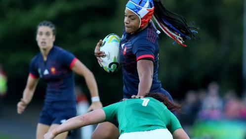 Coupe du monde féminine de rugby : la France se qualifie pour les demi-finales après sa victoire contre l'Irlande (21-5)