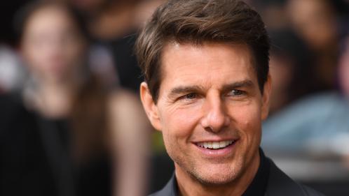"""VIDEO. Tom Cruise présente """"Mission Impossible - Fallout"""" depuis la tour Eiffel"""