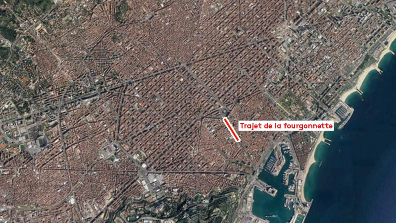 Carte L 39 Attentat De Barcelone A Eu Lieu Sur La Rambla La Plus Grande Avenue Touristique De La
