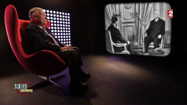 """VIDEO. """"13h15"""". Le coup de génie médiatique du général de Gaulle à la présidentielle de 1965"""