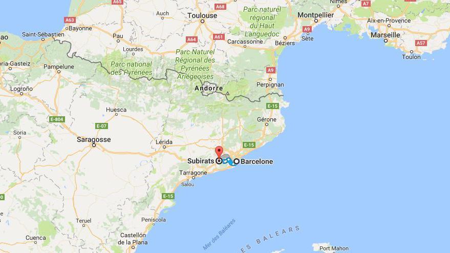 Direct Espagne La Police Annonce Une Op Ration Subirats Pr S De Barcelone