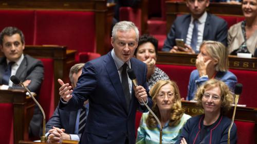 """Bruno Le Maire assure que le sort des """"plus fragiles"""" est la """"priorité absolue"""" du gouvernement"""