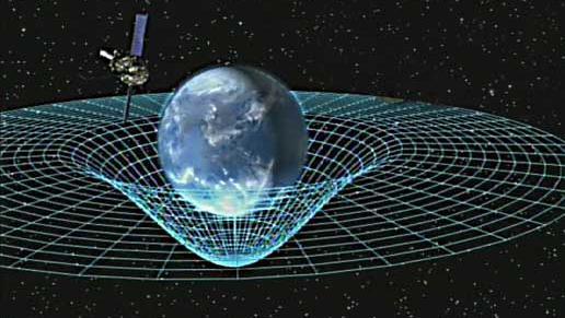 Une illustration de la théorie de la relativité de l\'espace-temps réalisée par la Nasa.