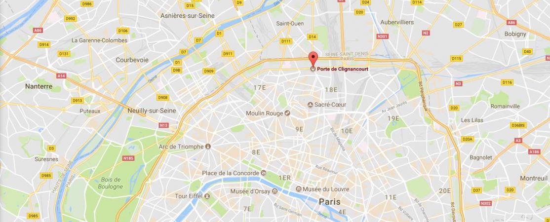 Paris un chauffard fonce sur les boulevards il est intern apr s une collision pr s d 39 un - Prefecture de police porte de clignancourt ...