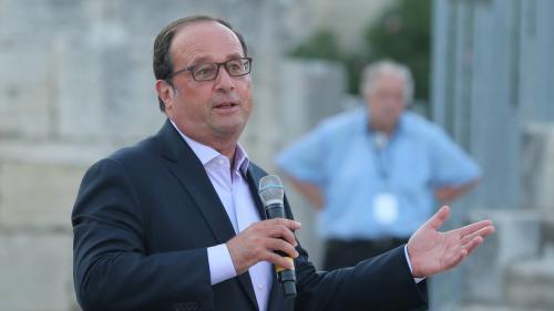 """VIDEO. Hollande tacle Macron : """"Il ne faudrait pas demander aux Français des sacrifices qui ne sont pas utiles"""""""