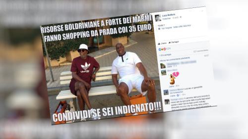 Italie : une photo de Magic Johnson et Samuel L. Jackson, pris pour des migrants dépensiers, crée l'indignation