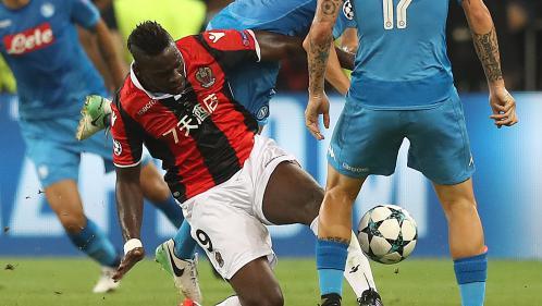 Foot : battu par Naples (0-2), l'OGC Nice ne disputera pas la phase de groupes de Ligue des champions