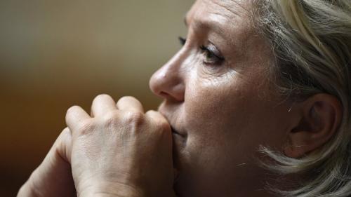 Marine Le Pen : période de doute pour la présidente du Front nationale