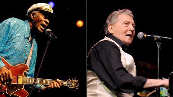 Berry et Lewis ont eu l\'occasion de refaire plusieurs tournées ensemble, comme ici à Mannheim le 22 novembre 2008