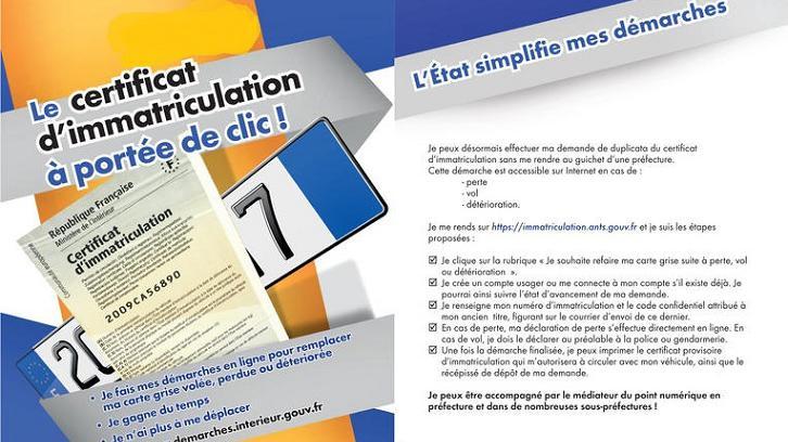 Automobile Couacs A Repetition Pour Les Cartes Grises En Ligne