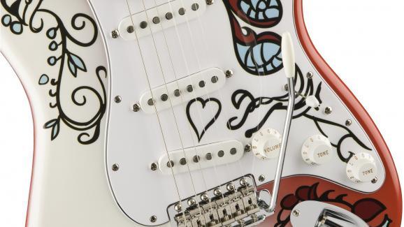 Le motif peint par Jimi Hendrix a été reproduit à l\'identique
