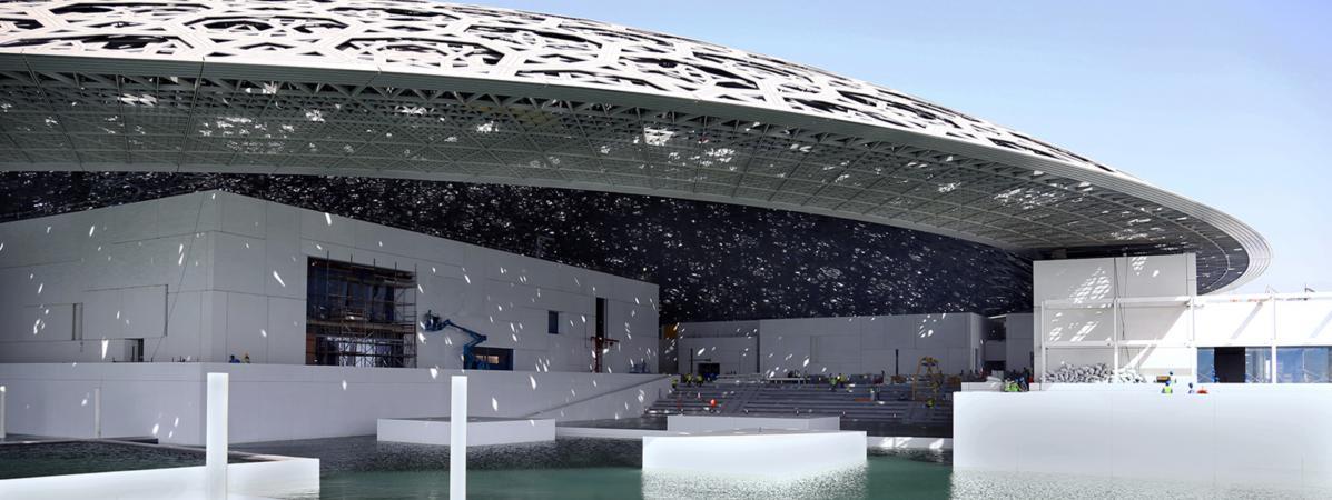 Le louvre abou dhabi le plus beau mus e au monde ouvrira le 11 - Date de construction du louvre ...