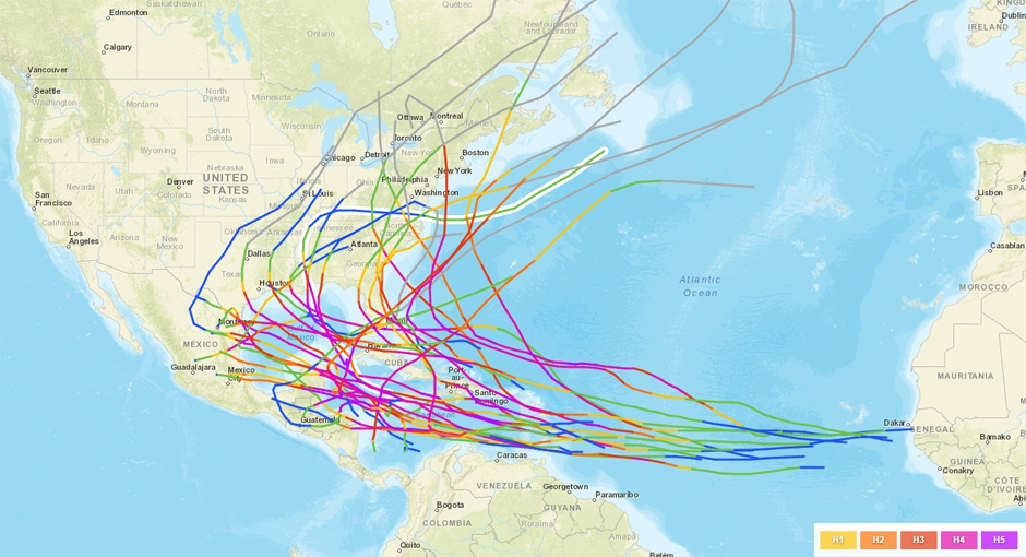 INFOGRAPHIE. Fréquence, intensité... Quel est l'impact du réchauffement climatique sur les ouragans ?