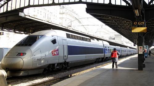 Un homme grièvement blessé, électrocuté sur le toit d'un TGV à Paris