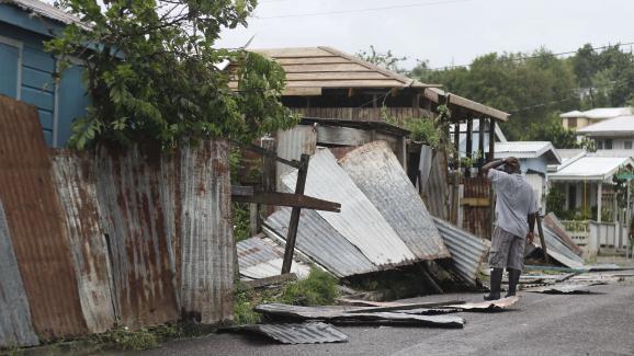 Ouragan Irma: après le passage du