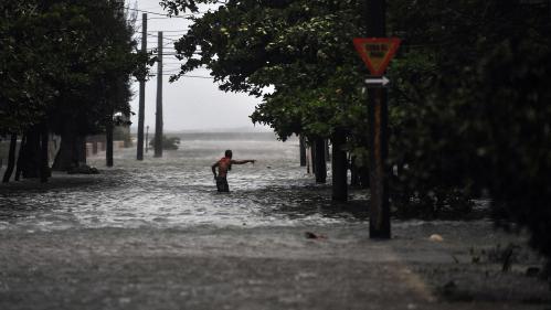 A Cuba, l'ouragan Irma a inondé la côte, y compris à La Havane