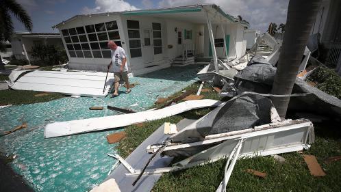 Ouragan Irma : ce que l'on sait des dégâts en Floride