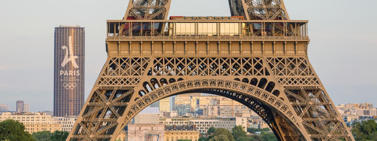 Sept questions pas si b tes sur les jo de paris 2024 - Image tour eiffel a imprimer ...