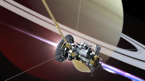 VIDEO. Retour sur l'incroyable voyage de la sonde Cassini, qui a terminé sa mission en plongeant vers Saturne