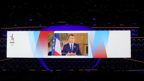 """VIDEO. JO 2024 à Paris : """"C'est une formidable reconnaissance"""", lance Emmanuel Macron"""