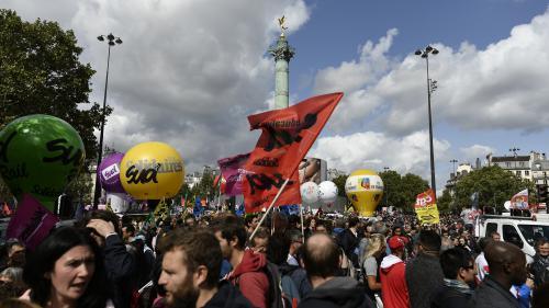 """Réforme du Code du travail : la première journée de mobilisation a été un """"échec"""" pour deux tiers des Français, selon un sondage"""