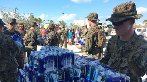 DIRECT. Après le passage de l'ouragan Irma, Donald Trump attendu en Floride