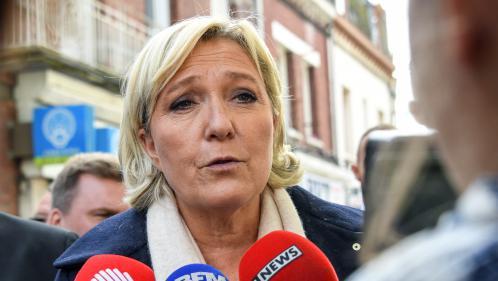 """VIDEO. Code du travail : Marine Le Pen estime que l'exécutif veut créer des """"contrats de mercenariat"""""""