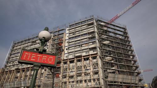 Paris : des ossements découverts sur le chantier de La Samaritaine