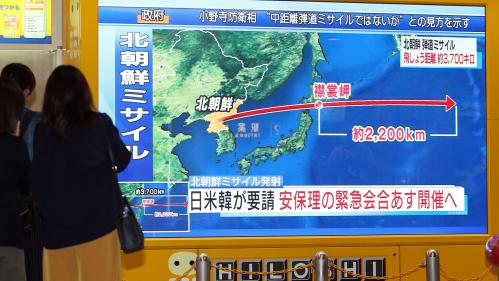 DIRECT. Corée du Nord : le Conseil de sécurité de l'ONU va se réunir en urgence après un nouveau tir de missile