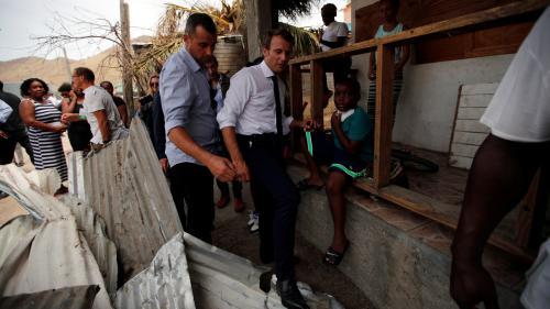 Non, à Saint-Martin, Emmanuel Macron n'a pas dormi sur un lit de camp