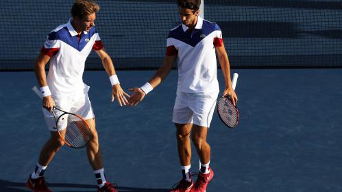 DIRECT. Coupe Davis : regardez la demi-finale France-Serbie avec le double Mahut-Herbert face à Zimonjic-Krajinovic