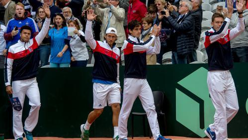 Coupe Davis : la France remporte le double et mène 2-1 en demi-finale face à la Serbie