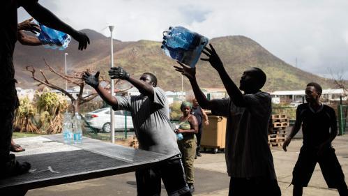 A Saint-Martin, la course contre la montre pour rétablir l'eau courante après l'ouragan Irma