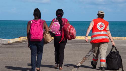 DIRECT. L'ouragan Maria passe en catégorie deux à l'approche de la Martinique, des vents jusqu'à 175 km/h attendus