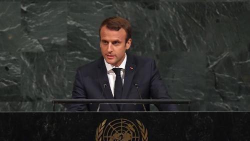"""DIRECT. Emmanuel Macron défend l'accord de Paris à la tribune de l'ONU : """"Nous ne reculerons pas"""""""