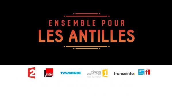 """Regardez en direct le grand concert """"Ensemble pour les Antilles"""" sur France 2"""