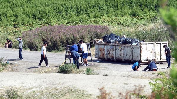 Nord : le campement de migrants de Grande-Synthe est en cours d'évacuation