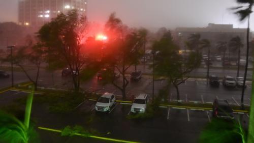 DIRECT. L'ouragan Maria touche terre à Porto Rico