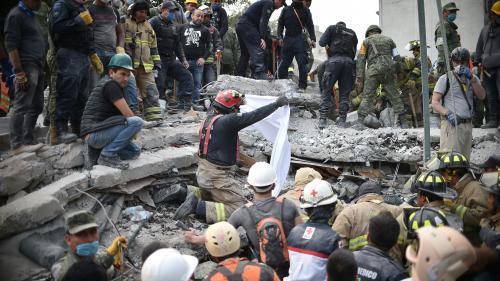 DIRECT. Séisme au Mexique : les recherches de survivants se poursuivent