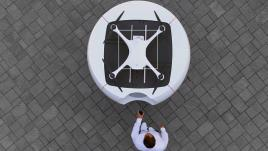 VIDEO. Le premier service de drone autonome lancé en Suisse