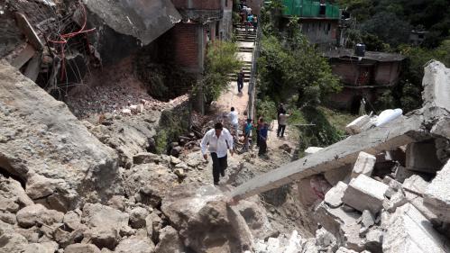 Ce que l'on sait du violent séisme qui a secoué le centre du Mexique