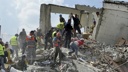 Séisme dans le centre du Mexique : un nouveau bilan provisoire fait état d'au moins 91 morts